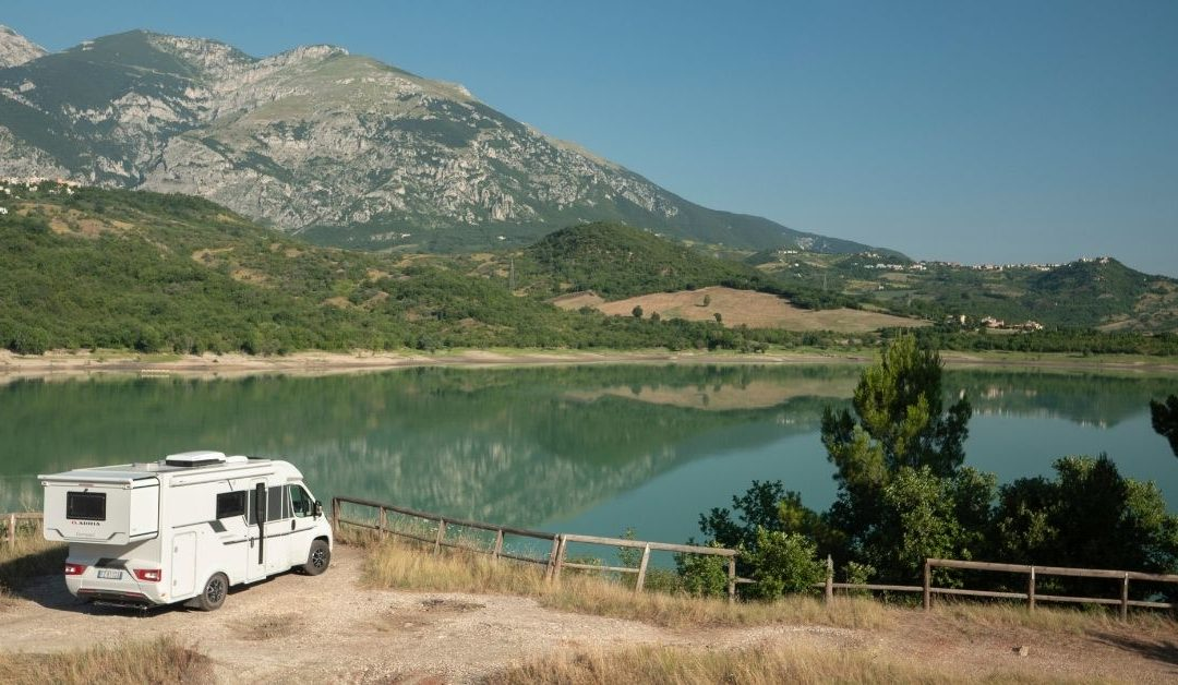 """Slide Out Your Van"" in the Italian National Park of Abruzzo, Lazio and Molise"